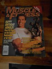 MUSCLE & FITNESS bodybuilding magazine ARNOLD SCHWARZENEGGER 7-97