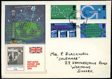 GB FDC 1969 POST OFFICE storia ed attività, Chichester IED #C 29028