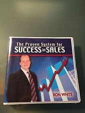 Ron White The Proven System For SUCCESS IN SALES 8 CD Set