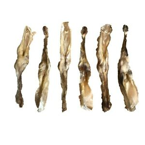 Dried Rabbit Ears - Treats Dog Chews Hypoallergenic 100% NATURAL Air Dried