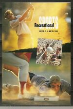 US SC # 2965a Recreational Sports,  First day of issue Ceremony Program