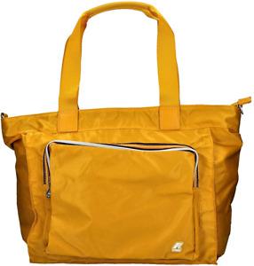 Borsa Shopping Donna K-Way Bag Woman K-Toujours Shopper K1R050-Giallo