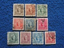 """China ROC Local Province 1947 """"Taiwan"""" Sc#40-49 Complete Set Used"""