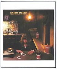 SANDY DENNY POSTER. Folk, Fairport Convention.