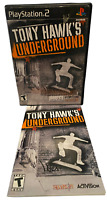 Tony Hawk's Underground W Manual PS2 PlayStation 2 Game