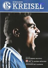 Schalker Kreisel + 21.09.2013 + FC Schalke 04 vs. FC Bayern München + programma +