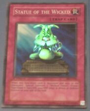 Yugioh Statue of the Wicked PGD-046 1ST EDITION Good Cond