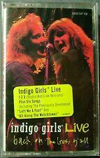 Indigo Girls:  Live Back On The Bus (Cassette, 1991, Epic) NEW