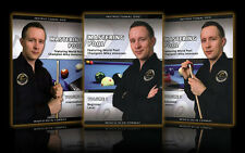 Mastering Pool Instructional Pool Billiards DVD Trilogy 3 DVD Set