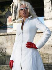 Ledermantel Leder Mantel Weiß weit schwingend Maßanfertigung
