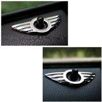 Auto 3D Tür Pin Abzeichen Emblem für BMW MINI Cooper/S/ ONE / Roadster / Clubman