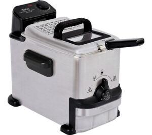 Tefal FR701640 Oleoclean Compact Deep Fryer 2L 1500W Stainless Steel & Black