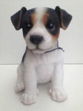 Jack Russell Puppy Tricolour Vivid Arts Garden Ornament .