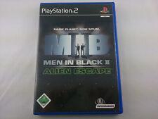 Men In Black II Alien Escape Sony PlayStation 2 2002 DVD Box PS2 PAL Spiel Game
