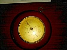 VTG Wooden Barometer ATCO Weather Station West Germany