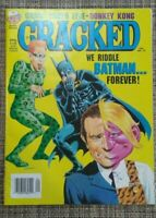 Cracked Magazine #301 Sept. '95 We Riddle Batman...Forever!
