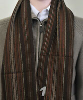 Mixed Stripe Style WOOL SCARF in 9 colors (HWS5007)
