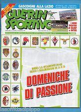 GUERIN SPORTIVO-1991 n.32- DOMENICHE DI PASSIONE-GASCOIGNE-RENICA -NO POSTER