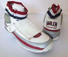 "Harlem Globetrotters Basketball Shoes ""WORLD TOUR"" FUBU PLATINUM Sneakers 13"