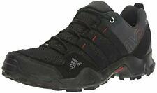 adidas outdoor Men's AX2 Hiking Shoe Dark Shale/Black/Light Scarlet 9 M US