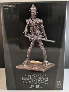 "Star Wars 9"" IG-88 Statue Collectors Gallery #761/1000"