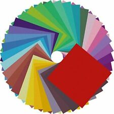 Origami Paper Double Sided Color - 200 Sheets - 20 Colors - 6 Inch Square