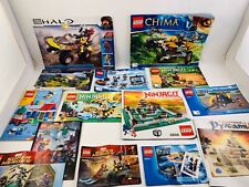 Lot of Lego, Mega Block and Other Instruction Books/Manuals