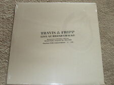 TRAVIS & FRIPP - LIVE AT BROAD CHALKE - LTD NUMBERED EDITION - NEW - LP RECORD
