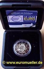 Niederlande - 2 Euro Gedenkmünze 2012 - 10 J. Bargeld - PP - in Box