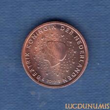 Pays Bas 2012 2 Centimes d'euro SUP SPL Pièce neuve de rouleau - Netherlands