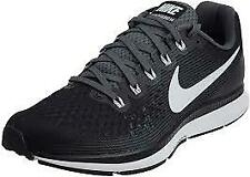 New Nike Air Zoom Pegasus 34 Running Shoes Men 15 Black/White