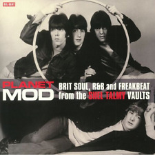 V.A.-PLANET MOD: BRIT SOUL. R&B AND FREAKBEAT...-IMPORT CD WITH JAPAN OBI F04
