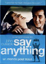 USED  DVD // COMEDY // SAY ANYTHING // John Cusack, Ione Skye, John Mahoney, Lil