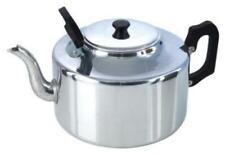 ALUMINIUM 4.5 LITRES CATERING TEAPOT 8 PINTS LIGHT WEIGHT PLASTIC HANDLE COFFEE