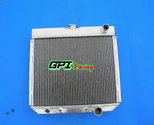 for 1963-1969 Ford Fairlane 1967-1969 Ford Mustang Aluminum Radiator 3 ROWS