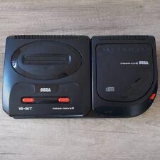 Sega Mega Drive CD ► Mega Drive II & Mega CD   Controller & alle Kabel ◄ TOP