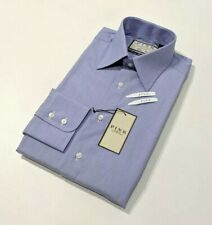 Thomas Pink Mens Shirt Blue Chambray Classic Fit 14.5 - 84cm New RRP£125