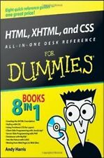 Html, Xhtml, and Css All-In-One Desk Reference for Dummies by Andy Harris (2008,