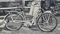 1947 ROLLFAST BICYCLE Print Ad in Life Magazine 1B32