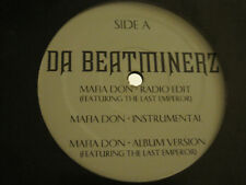 "DA BEATMINERZ W/ LAST EMPEROR + WORDWORD  MAFIA DON / CAME 2 DO 12"" 2005 RAP VG+"