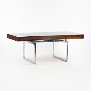 4-Drawer Bodil Kjaer Desk for E. Pedersen & Son Brazilian Rosewood Denmark Knoll
