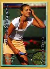 2002 Maria Sharapova SCi Sports Card Investor Platinum Rookie /2000 scarce