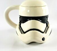 Stormtrooper STAR WARS Sculpted Ceramic Coffee Cup Mug with Lid
