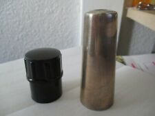 Vintage SIlver Saxophone Mouthpiece cover and cover cap plug