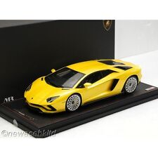 Lamborghini Aventador S New Giallo Orion MR COLLECTION 1/18 #LAMBO027A