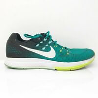 Nike Mens Air Zoom Structure 19 806580-301 Black Green Running Shoes Size 10.5