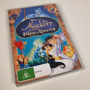 Disney Aladdin And The King Of Thieves - DVD Like New - R4 - Free Postage