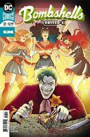 Bombshells United #17 DC Comics 1st Print 2018 unread NM Joker Cover