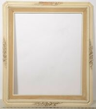 """Antique Off White Frame ~ To fit a 20X24 print ~ 3 ¼"""" Wide Molding with Liner"""