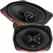 """BRAND NEW PAIR OF VIBE SLICK 69.3 V7 SERIES 2 6x9"""" 960w  TRI-AXIAL SPEAKERS"""